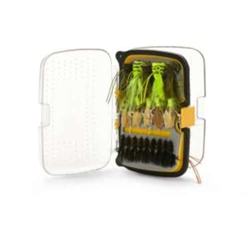 Scientific Anglers 176 Classic Angled Fly Box, Waterproof - Medium - Yellow