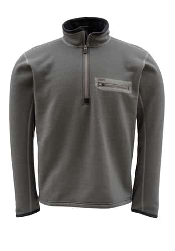 Simms Montana Tech Wool Zip Top