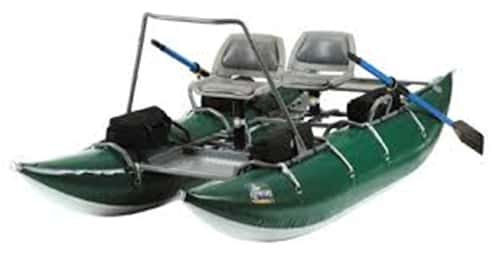 outcast pac 1200 two man pontoon boat
