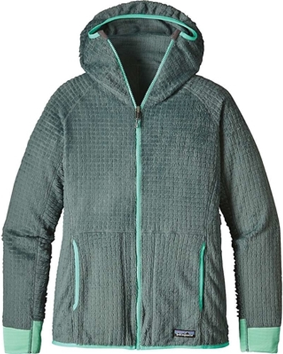 Patagonia Women's R3 Hoody Nouveau Green Closeout Sale