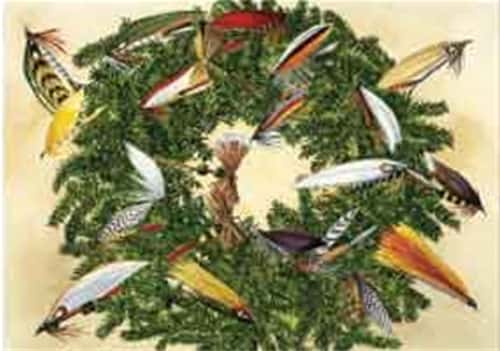 Fly Wreath Holiday Cards