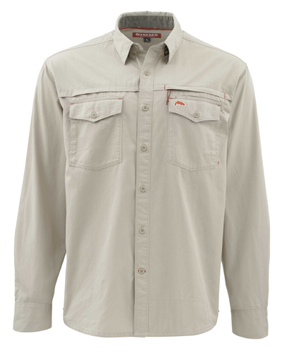 Simms Stillwater Twill Long Sleeve Shirt