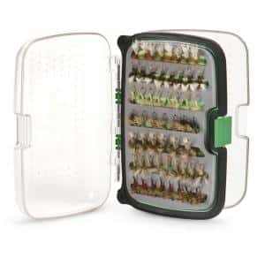 Scientific Anglers System X Standard Waterproof Fly Box - Green