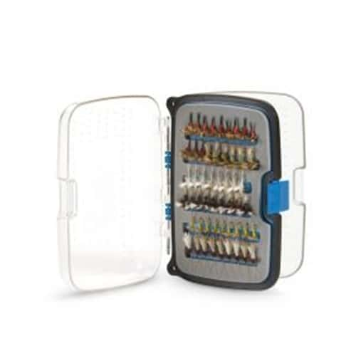 Scientific Anglers 216 Fly Box - Waterproof Compact - Small - Metallic Blue