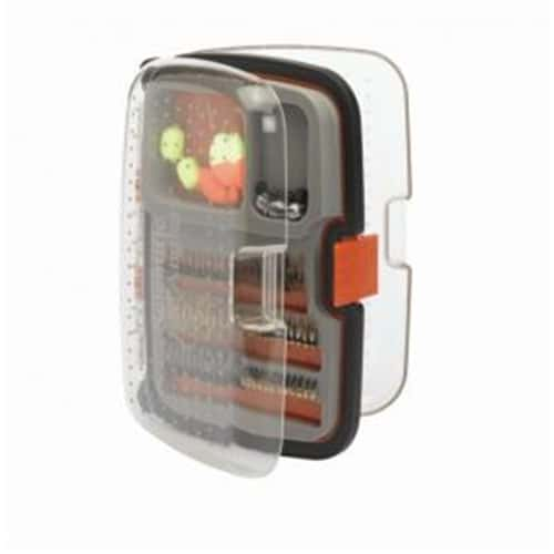 Scientific Anglers 210 Nymph Fly Box, Waterproof - Medium - Orange