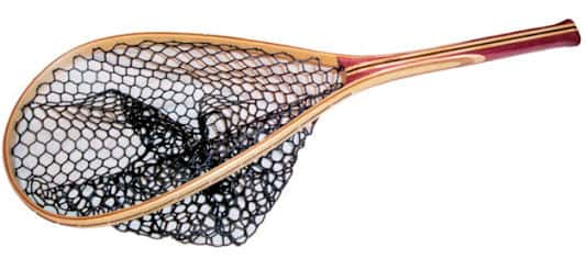 Fisknat Float Tube Fly Fishing Net With Rubber Bag (Free Shipping)