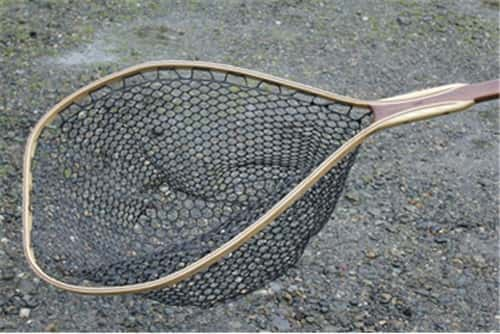 Fisknat Grande Ronde Boat Fly Fishing Net with Rubber Bag