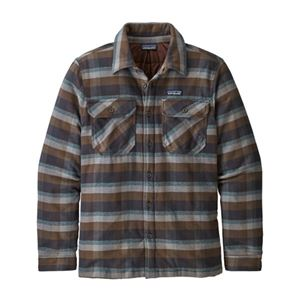Patagonia Men's Insulated Fjord Flannel Jacket Sale On Select Colors