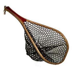 Fisknat Nets Yak Fly Fishing Net With Lightweight Rubber Bag